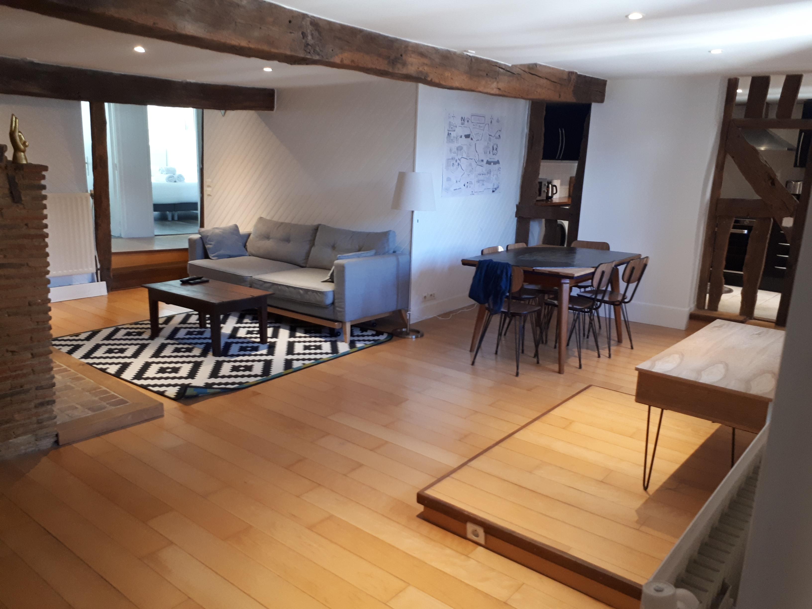Appartement coup de cœur en plein centre ville de Rennes